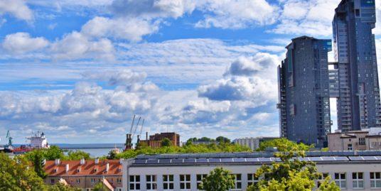 Centrum Gdyni z widokiem na morze, 3 pokoje, 2 balkony